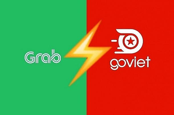 Grab và GoViet.