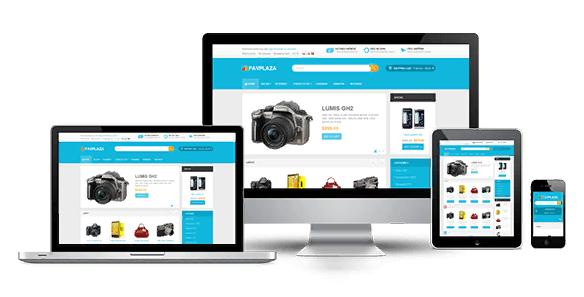 Thiết kế giao diện website chuẩn responsive