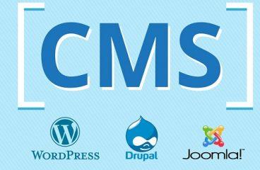 Top những CMS phổ biến nhất hiện nay