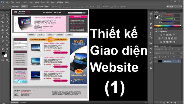 Thiết kế giao diện website có hiệu ứng chuyển màu lớn.