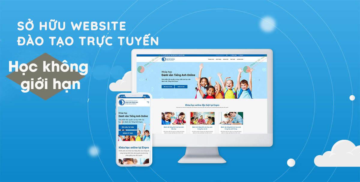 Nên hay không khi lựa chọn thiết kế website học trực tuyến