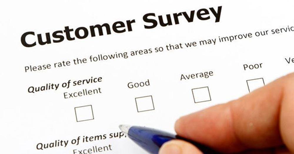 Phiếu thông tin khảo sát phản hồi của khách hàng để cải thiện chất lượng dịch vụ