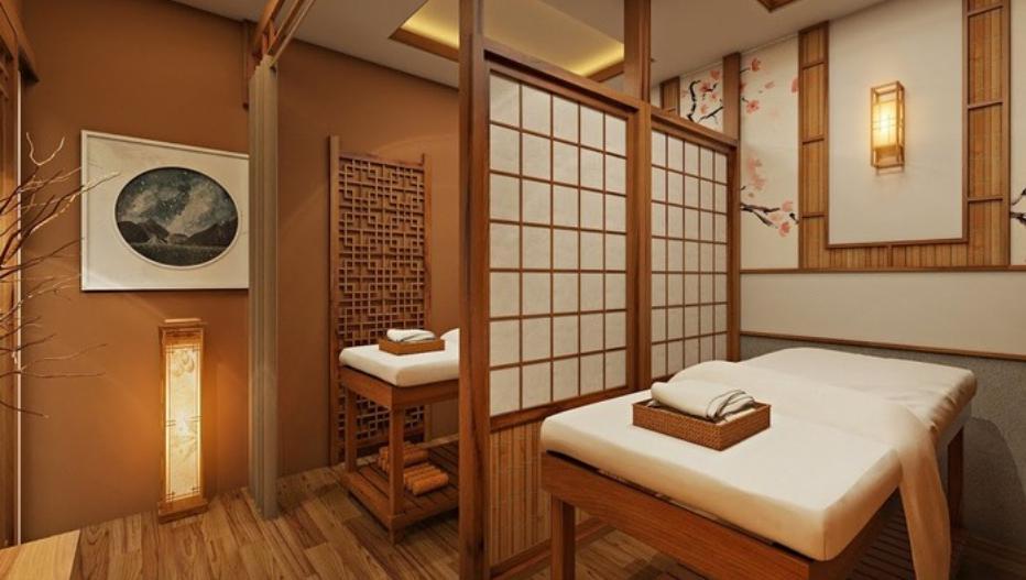 Thiết kế spa đẹp theo phong cách Nhật Bản