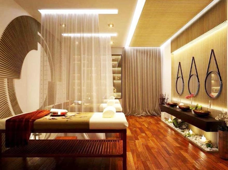 thiết kế spa đẹp theo phong cách tân cổ điển