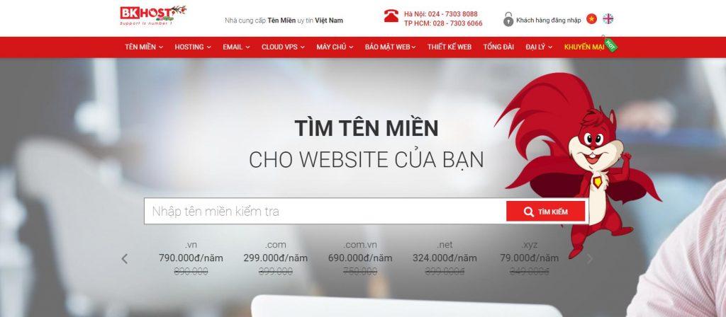 Nhà cung cấp hosting Việt Nam BKHOST.vn
