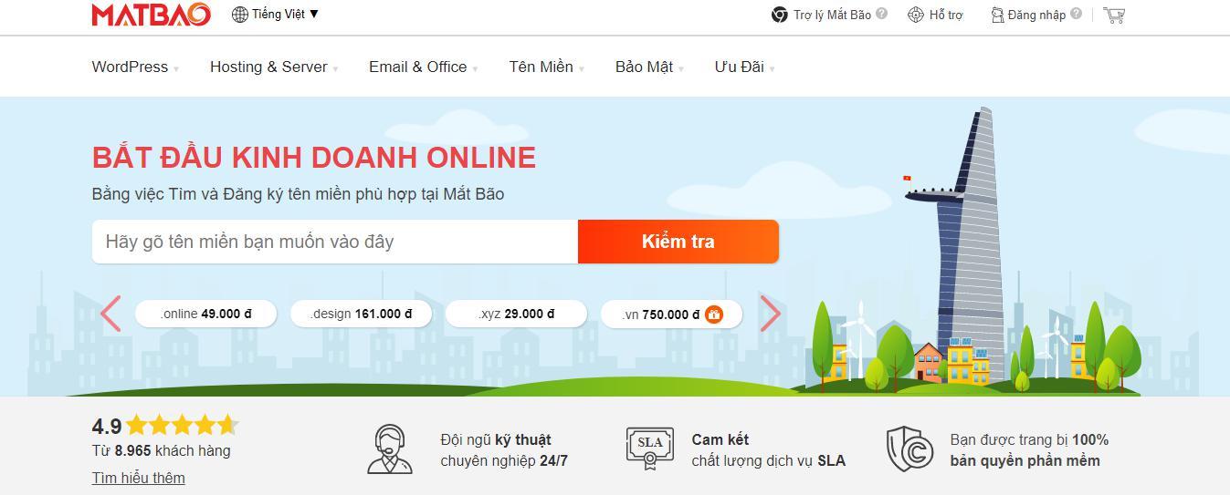 Nhà cung cấp hosting Việt Nam Mắt Bão – ODS
