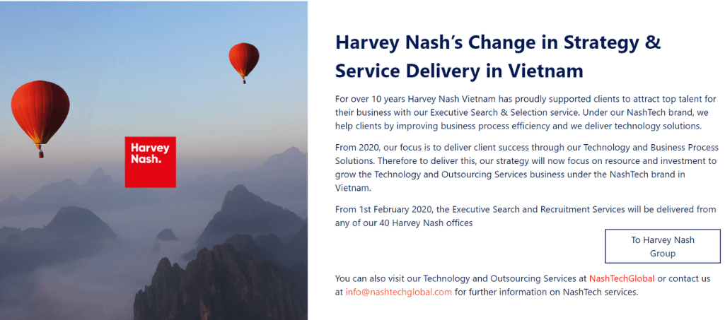 công ty Harvey Nash