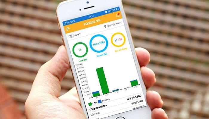 Phần mềm bán hàng trên điện thoại miễn phí - POS 365