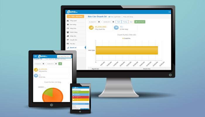 Phần mềm quản lý cửa hàng bán lẻ - Suno