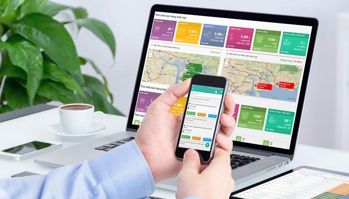 Ứng dụng bán hàng trên điện thoại - TOKO Tech